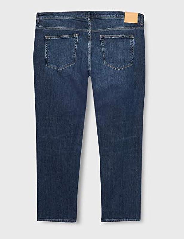GANT męskie spodnie dresowe Slim Jeans - wąski 44W / 32L: Odzież