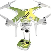 Skin For DJI Phantom 3 Professional – Pilots | MightySkins Protective, Durable, and Unique Vinyl Decal wrap cover | Easy To Apply, Remove, and Change Styles | Made in the USA