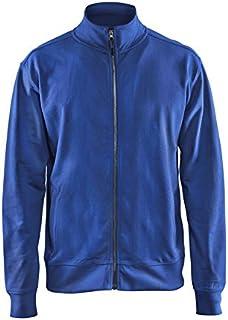 Blakläder 337111588500l Felpa con zip taglia L in blu 1