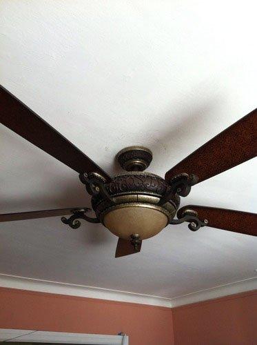 "Minka Aire F705 STW Napoli 56"" Ceiling Fan Sterling Walnut"