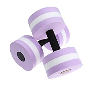 winomo 2pcs Aquatic Exercise Dumbells EVA Agua Bar Bells para ...