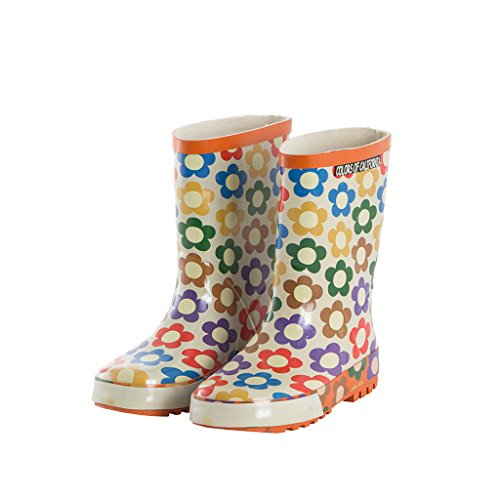 COLORS OF CALIFORNIA Kinder Gummistiefel orange Gr. 30 (2 Wahl)
