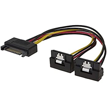 Altro Cavi E Connettori Cavi E Connettori 2019 Latest Design Cavo Connettore Ide Molex Lp4 To 2x Sata Latching Power Y Cable Splitta Adapter And To Have A Long Life.