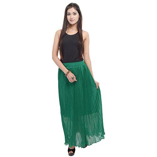 Soundarya - Jupe - Femme vert Green