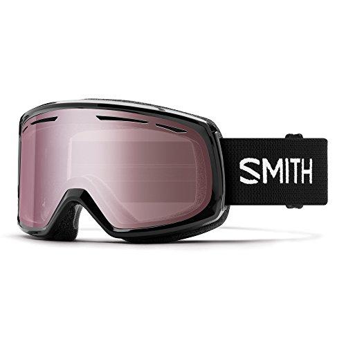 Smith Drift, lunettes de ski mixte adulte Taille unique noir