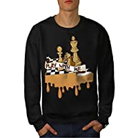 Play Chess With Me Game Board Men NEW S-7XL Sweatshirt | Wellcoda