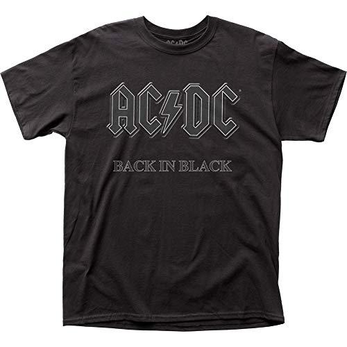 (Impact Men's AC/DC Back in Black Short-Sleeve)