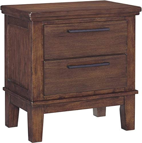 Ashley Furniture Signature Design – Ralene Nightstand – Medium Brown