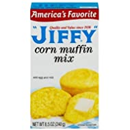 Jiffy Corn Muffin Mix, 8.5 oz (Pack of 2)