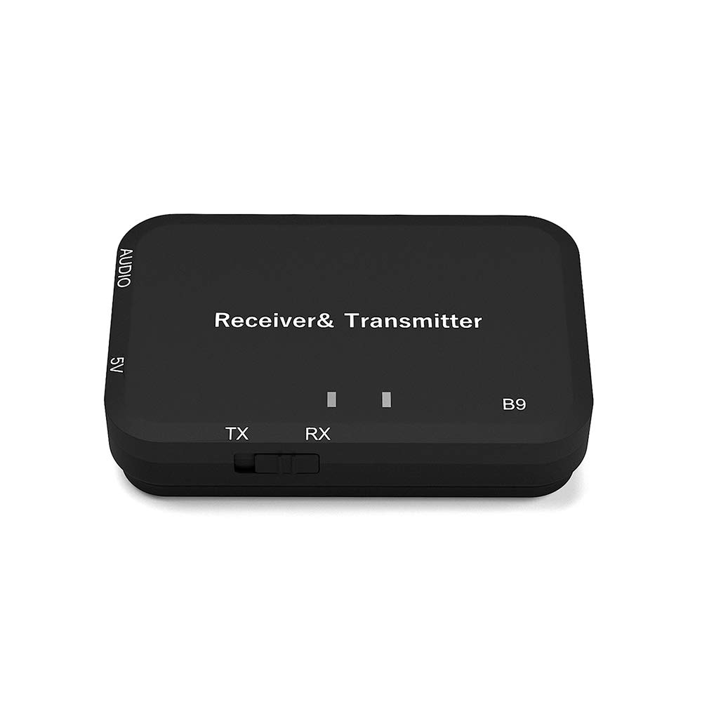 FairOnly Émetteur récepteur Bluetooth V4.2 sans Fil A2DP stéréo Audio 3,5 mm