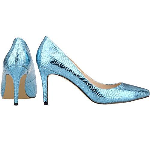 1XEY Femme Ni952 Escarpins Renly Clair Bleu pour xp1q10fRw5