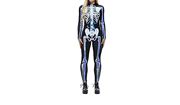 Bloomma Womens 3D Esqueleto Impresora Andamios una Sola Pieza ...