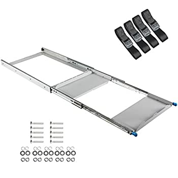 Image of ALL-TOP 4X4 Fridge Slide (28 in) - Suit 30 to 50L Fridges/Coolers (Straps Included) - 3 Year Warranty - Galvanized Never Rust