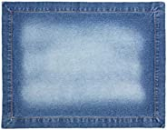 Jogo Americano, Kit com 2, Coleção Especiarias Acervo Panelinha, Azul Jeans, Algodão