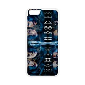 Game of Thrones iPhone 6 Plus 5.5 Inch Cell Phone Case White JN775276