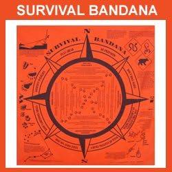 Survival Bandana by OEM