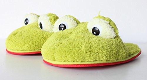 Hausschuhe Frosch, Gr. S, 35-37, Pantoffeln