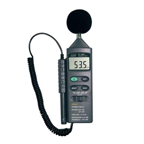 CEM社 ■【正規代理店】[DT-8820]多機能環境メータ DT-8820