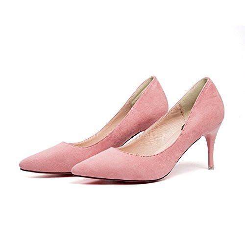 da damigella Female Fine d'onore Winter lavoro New Pink Spring singole da Jqdyl Heels Scarpe With Autumn Scarpe Pointed And High alti Tacchi Scarpe wYqxafPZU