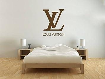Vinlycardecal Louis Vuitton Logo Art Wand Aufkleber Moderne