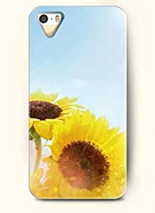 OOFIT phone case design with Two sunflowers for Apple iPhone 5 5s by icecream design