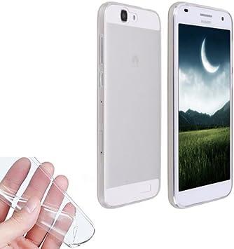 Donkeyphone - Funda Gel Transparente para Huawei Ascend G7 ...