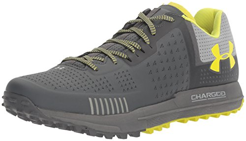 Under Armour Men Horizon RTT Trail Running Shoes Rhino Gray (076)/Gray Wolf