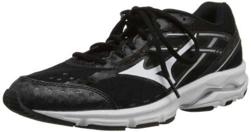 Mizuno Women's Wave Unite 2 Cross-Training Shoe,Black/White,11 M US