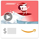 Amazon.ca eGift Card - Surfin Santa (Animated)