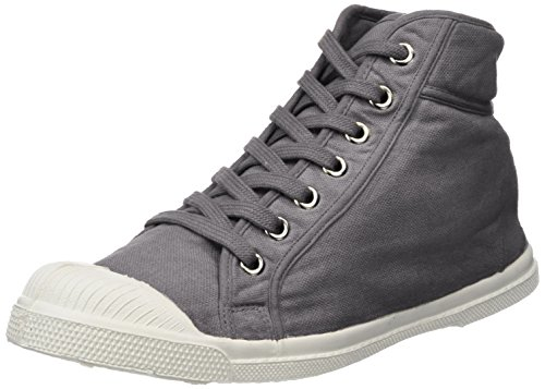 Bensimon Mid Femme Gris Mode Tennis Baskets 1r8q1w