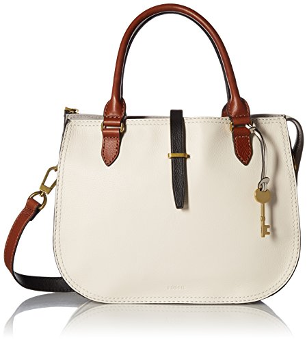 Fossil Ryder Satchel Handbag, Neutral Multi,One Size by Fossil