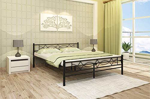Homdec Columba Metal Queen Bed