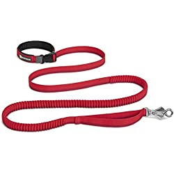 Ruffwear - Roamer Extending Dog Leash, Red Currant (2017), 5.5-7 ft
