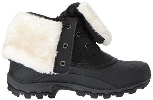 Kamik Dames Winter Schoenen Harper Zwart / Wit Bk2