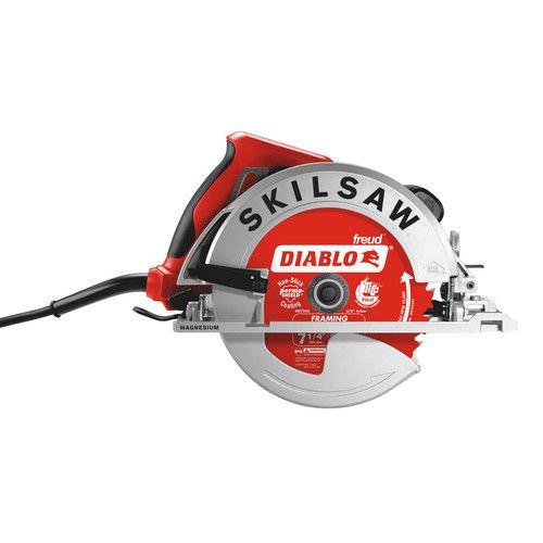 120v Circular Saw Kit - SKILSAW SPT67WM-22 Magnesium Sidewinder Circular Saw, 7-1/4-Inch