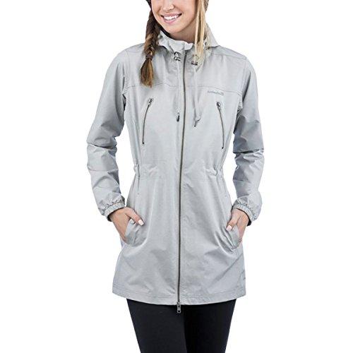 Avalanche Caspian 2L Rain Coat - Women's Light Heather Grey/Tornado, L