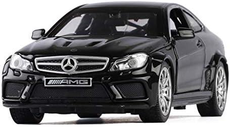 WWFAN 午前1時32分メルセデス・ベンツC63 AMGセダン子供大人シミュレーション合金のプル戻るカーモデルのおもちゃコレク
