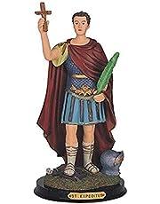 "StealStreet Saint Expedites Holy Figure Religious Statue Decor, 12"""