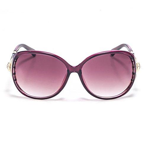 8aaac52ea6f8a6 Lunettes de graduel Violet mode lunette la Smileyes de changement femme la  monture soleil 2017 de ...
