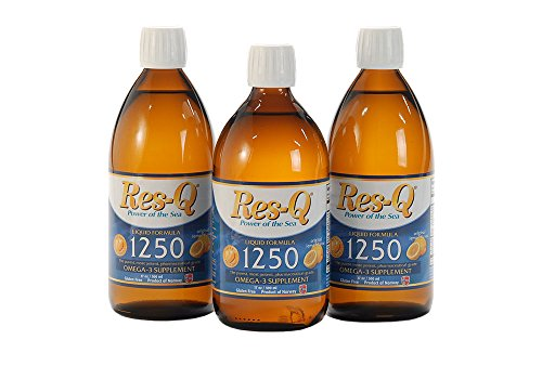 Res-Q 1250 Omega-3 Fish Oil Liquid 3-Pack by ResQ