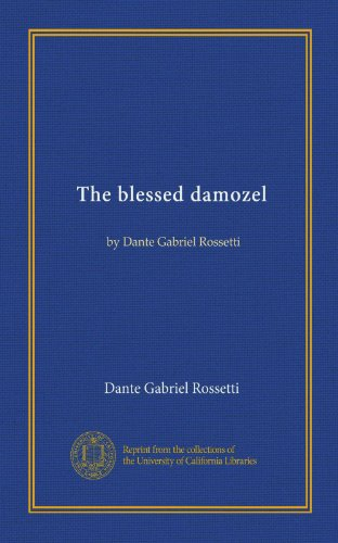 the blessed damozel shmoop