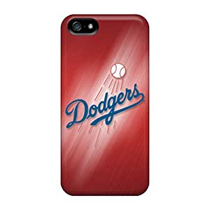 Durable Case For The Iphone 5/5s- Eco-friendly Retail Packaging(los Angeles Dodgers)