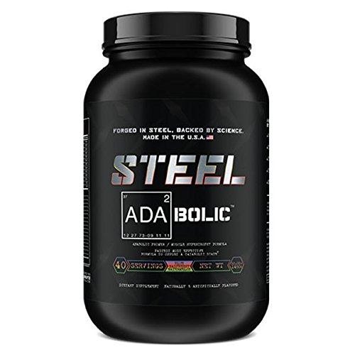 Steel Supplements ADA2Bolic Workout Recovery Aid Powder Restores Muscle Glycogen 3.75lbs (Blue Raspberry Watermelon)