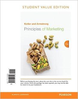summary kotler principles of marketing 15