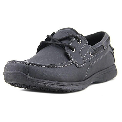 Rubber Men's Leather Two SD Boat Black Grabbers Tie Shoes Eye Runabout 0SYqd