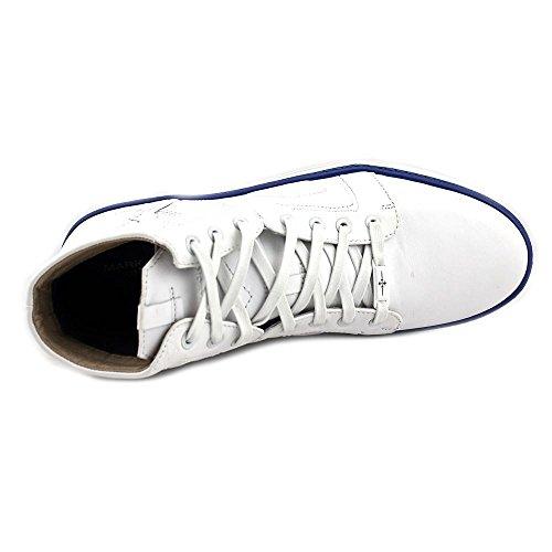 Mark Nason Los Angeles Mens Signal Fashion Sneaker Bianco / Blu
