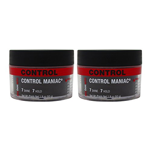 Bundle - 2 Items : Style Sexy Hair Control Maniac Wax, (7 Shine- 7 Hold), 1.8 Oz (Pack of 2)