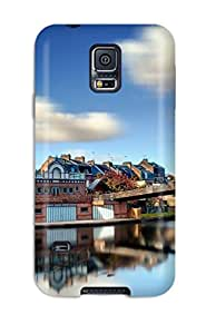 Special Matt C Brown Skin Case Cover For Galaxy S5, Popular Scenic Phone Case