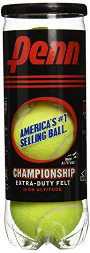 Penn Championship Extra Duty High Altitude Tennis Balls, 12 Can Case, 36 Balls