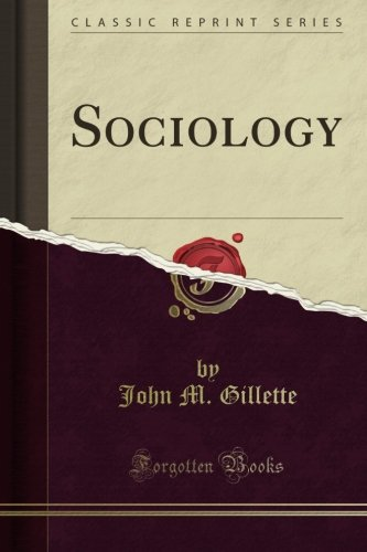 Sociology (Classic Reprint)